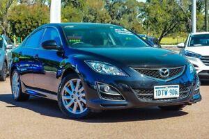 2011 Mazda 6 GH1052 MY12 Touring Black 5 Speed Sports Automatic Sedan Wangara Wanneroo Area Preview