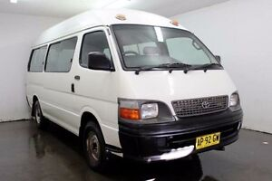 2004 Toyota Hiace LH184R Commuter White Manual Bus Cabramatta Fairfield Area Preview