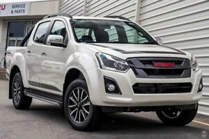 2019 Isuzu D-MAX MY19 X-Runner Crew Cab White 6 Speed Sports Automatic Utility Dandenong Greater Dandenong Preview