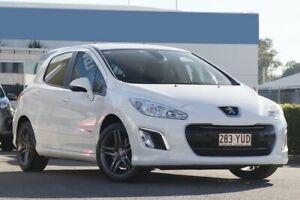 2013 Peugeot 308 T7 MY13 Sportium Banquise White 6 Speed Sports Automatic Hatchback Rocklea Brisbane South West Preview