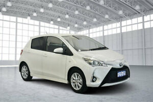 2018 Toyota Yaris NCP131R ZR White 4 Speed Automatic Hatchback Victoria Park Victoria Park Area Preview