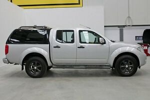 2012 Nissan Navara D40 S6 MY12 ST 25th Anniversary Silver 5 Speed Automatic Utility Seven Hills Blacktown Area Preview