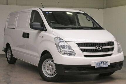 2014 Hyundai iLOAD TQ2-V MY14 Creamy White 5 Speed Automatic Van South Melbourne Port Phillip Preview