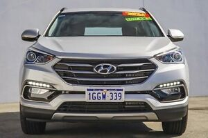2016 Hyundai Santa Fe DM3 MY17 Active Silver 6 Speed Sports Automatic Wagon Bellevue Swan Area Preview