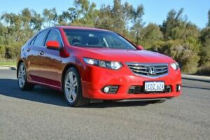 2012 Honda Accord Euro CU MY12 Luxury Red 5 Speed Automatic Sedan Cannington Canning Area Preview