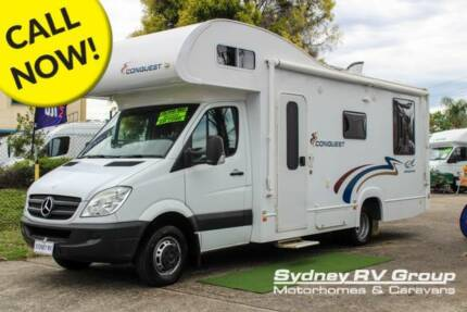 U3858 Jayco Conquest Popular Model With Great Layout & LOW KMs! Penrith Penrith Area Preview