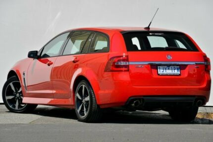 2017 Holden Commodore VF MY17 SV6 Red Hot Automatic Sportswagon