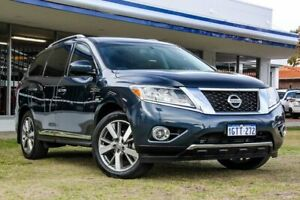 2013 Nissan Pathfinder R52 MY14 Ti X-tronic 4WD Blue 1 Speed Constant Variable Wagon
