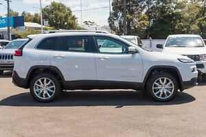 2014 Jeep Cherokee KL MY15 Limited Bright White 9 Speed Sports Automatic Wagon Greenacre Bankstown Area Preview