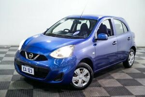 2016 Nissan Micra K13 Series 4 MY15 ST Blue 4 Speed Automatic Hatchback Edgewater Joondalup Area Preview