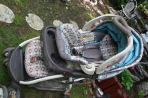 Baby Trend Venture Travel System - Juniper. It works perfectly,