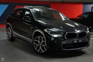 2018 BMW X2 F39 sDrive18i Coupe DCT M Sport X Black 7 Speed Sports Automatic Dual Clutch Wagon South Melbourne Port Phillip Preview