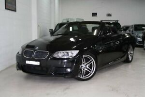 2013 BMW 3 Series E93 MY1112 325i Steptronic Black 6 Speed Sports Automatic Convertible Castle Hill The Hills District Preview