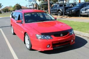 2003 Holden Commodore VY SS Red 4 Speed Automatic Wagon Hoppers Crossing Wyndham Area Preview