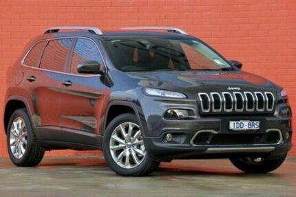 2015 Jeep Cherokee KL MY15 Limited Granite Crystal 9 Speed Auto Seq Sportshift Wagon Pakenham Cardinia Area Preview