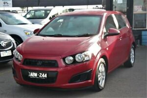 2014 Holden Barina TM MY15 CD Red 6 Speed Automatic Hatchback Cheltenham Kingston Area Preview