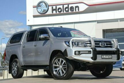 2016 Toyota Hilux GUN126R SR5 Double Cab Silver Sky 6 Speed Sports Automatic Utility Liverpool Liverpool Area Preview