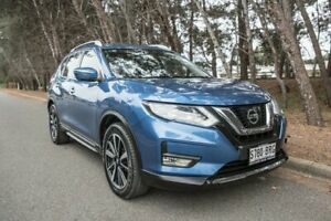 2017 Nissan X-Trail T32 Ti X-tronic 4WD Blue 7 Speed Constant Variable Wagon Morphett Vale Morphett Vale Area Preview