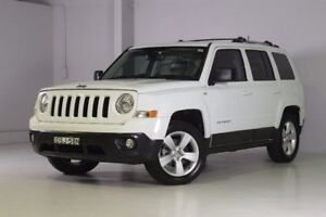 2014 Jeep Patriot MK MY15 Limited White 6 Speed Sports Automatic Wagon