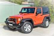 2015 Jeep Wrangler JK MY2015 Sport 5 Speed Automatic Softtop Berwick Casey Area Preview