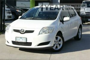 2008 Toyota Corolla ZRE152R Ascent White 4 Speed Automatic Hatchback Carrum Downs Frankston Area Preview