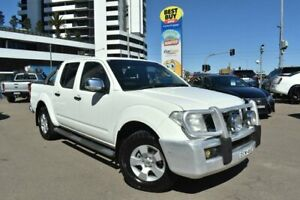 2009 Nissan Navara D40 ST-X Arctic White 5 Speed Automatic Utility Campbelltown Campbelltown Area Preview