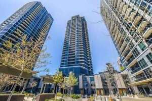 Bright Open Concept Unit. Unobstructed View With Open Balcony,