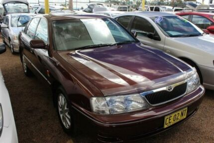 2002 Toyota Avalon MCX10R Mark II VXI Limited Burgundy 4 Speed Automatic Sedan Colyton Penrith Area Preview