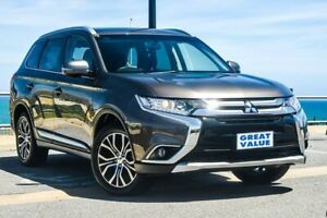 2017 Mitsubishi Outlander ZK MY18 LS AWD Bronze 6 Speed Constant Variable Wagon