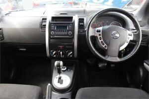 2013 Nissan X-Trail T31 ST Silver Constant Variable Wagon