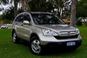 2008 Honda CR-V RE MY2007 4WD Gold 5 Speed Automatic Wagon Myaree Melville Area Preview