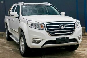 2019 Great Wall Steed NBP MY18 Pure White 6 Speed Manual Utility Tweed Heads Tweed Heads Area Preview