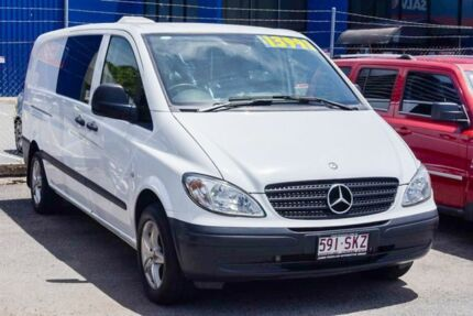 2006 Mercedes-Benz Vito 639 109CDI Low Roof Comp White 6 Speed Manual Van
