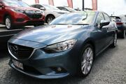 2014 Mazda 6 GJ1031 MY14 Atenza SKYACTIV-Drive Blue 6 Speed Sports Automatic Sedan Ormiston Redland Area Preview