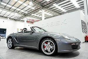 2005 Porsche Boxster 987 S Ice Silver 5 Speed Tiptronic Roadster Port Melbourne Port Phillip Preview