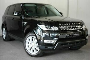 2014 Land Rover Range Rover Sport L494 MY14.5 SDV6 CommandShift HSE Black 8 Speed Sports Automatic Bayswater Bayswater Area Preview