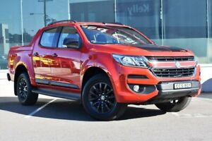 2017 Holden Colorado RG MY18 Z71 Pickup Crew Cab Red 6 Speed Sports Automatic Utility Cardiff Lake Macquarie Area Preview