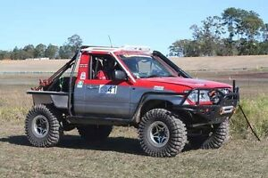 Toyota Land Cruiser 105 series winch challenge truck ls1 Jimboomba Logan Area Preview