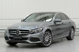 2017 Mercedes-Benz C-Class W205 C350 e Grey Sports Automatic Parramatta Parramatta Area Preview
