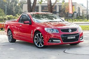 2013 Holden Ute VF MY14 SS V Ute Red Hot 6 Speed Manual Utility Penrith Penrith Area Preview