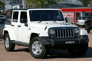 2015 Jeep Wrangler Unlimited JK MY15 Freedom IV (4x4) White 5 Speed Automatic Softtop Zetland Inner Sydney Preview