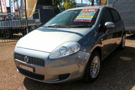 2008 Fiat Punto Dynamic DuaLogic Grey 5 Speed Seq Manual Auto-Clutch Hatchback