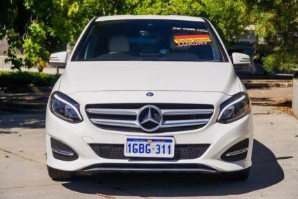2015 Mercedes-Benz B200 CDI W246 DCT White 7 Speed Sports Automatic Dual Clutch Hatchback
