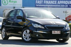 2015 Peugeot 308 T9 Active Perla Nera Black 6 Speed Sports Automatic Hatchback Rocklea Brisbane South West Preview