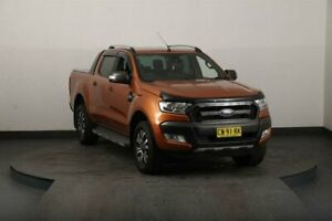 2016 Ford Ranger PX MkII Wildtrak 3.2 (4x4) Gold 6 Speed Automatic Dual Cab Pick-up Smithfield Parramatta Area Preview