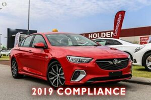 2018 Holden Commodore ZB MY18 RS Liftback Red 9 Speed Sports Automatic Liftback Rockingham Rockingham Area Preview