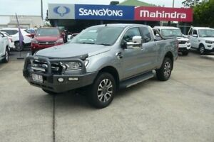 2017 Ford Ranger PX MkII MY18 XLT 3.2 (4x4) Silver 6 Speed Automatic Super Cab Utility Rothwell Redcliffe Area Preview