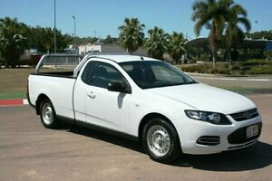 2012 Ford Falcon FG MkII Ute Super Cab White 6 Speed Sports Automatic Utility Townsville Townsville City Preview