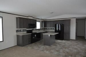Great kitchen and lots of space in this new modular home!