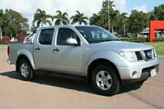 2005 Nissan Navara D40 ST-X Silver 6 Speed Manual Utility Townsville Townsville City Preview